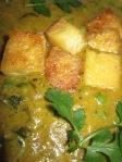 מאטאר פאניר טבעוני: אוכל הודי טבעוני