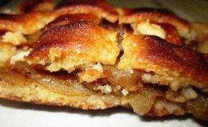 פאי עוגת תפוחים ומייפל טבעונית פרווה בלי ביצים