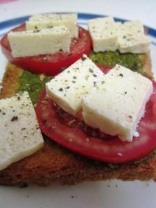 גבינה בולגרית טבעונית מטופו